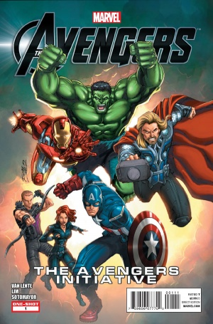 The Avengers The Avengers Initiative Couverture.jpg